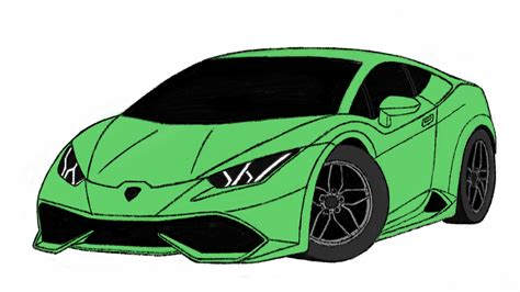 cartoon lamborghini how to draw lamborghini huracan car toons by