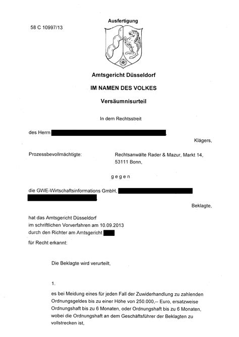 Muster Widerspruch Abofalle Gwe Rechtsanwalt Rader