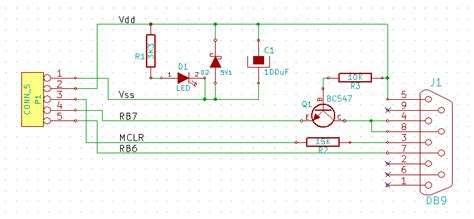 jdm programmer circuit diagram jdm a simple pic programmer circuit scorpionz