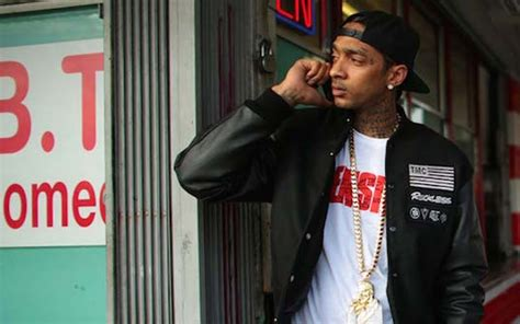 Nipsey Hussle Criminal Record Nipsy Hussle Shows Support To Black Lives Matter And Black