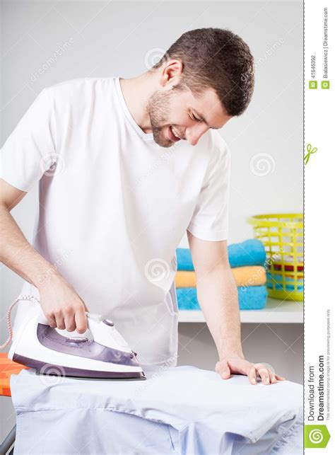 Home Design Free Download Program by Man Doing Household Chores Stock Photo Image 41646392