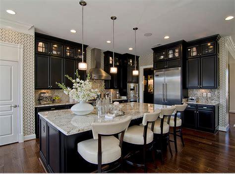black stained kitchen cabinets black ebony stained kitchen cabinets paint pinterest