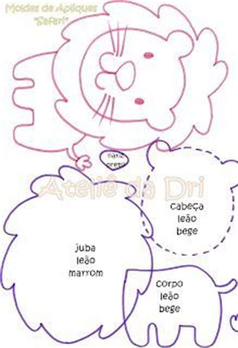 molde para goma eva de leon feltro moldes artesanato em geral coelho de pascoa eva