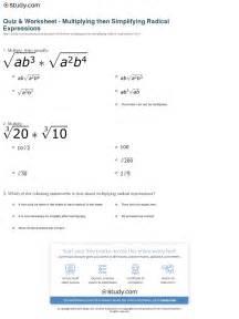 Multiplication Of Radicals Worksheet Multiply Binomials Worksheet Cleverwraps