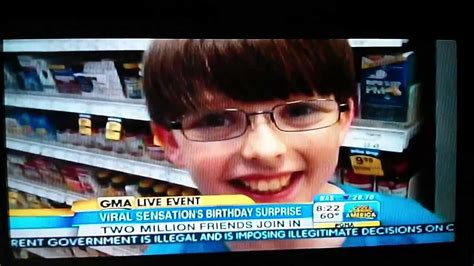 good morning america will feature artprize thanks to colin s birthday surprise on good morning america gma