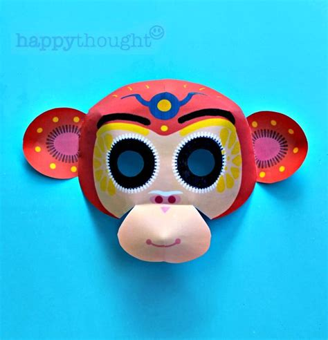 new year monkey mask new year monkey mask tutorial and