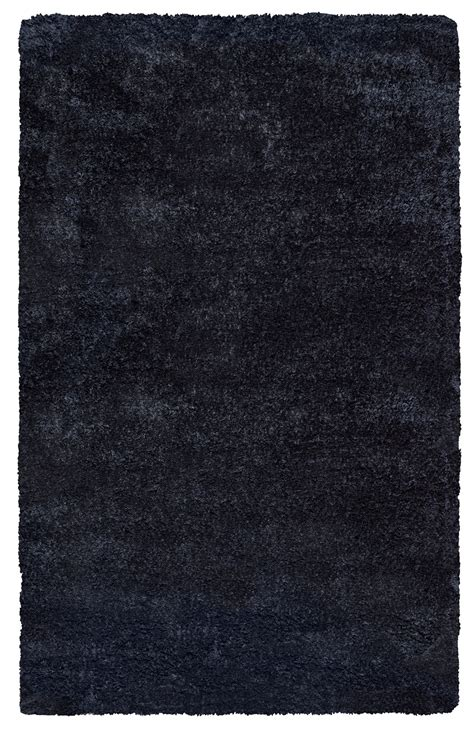solid black area rugs commons plush tufted area rug in solid black 5 x 8