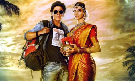 film china express song srk deepika s chennai express costumes to be auctioned