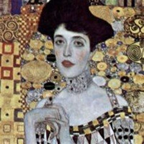 adele berlin biography gustav klimt art nouveau painter viennese secession