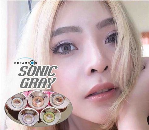 Black Lens Softlens Dreamcolor dreamcon color sonic gray softlens