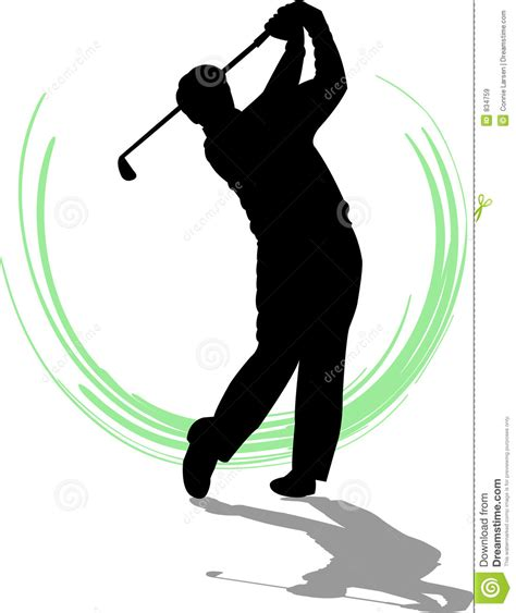 golf swing clip art golfer man eps royalty free stock images image 834759