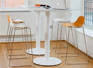 Small Kitchen Table With Bench Breakout High Tables Office And Workplace Tall Tables