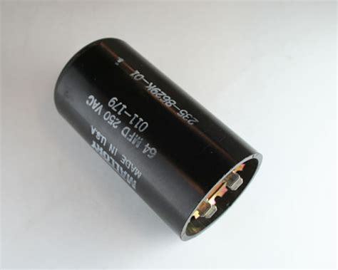 capacitor start motor applications 011 179 mallory capacitor 64uf 250v application motor start 2020057719