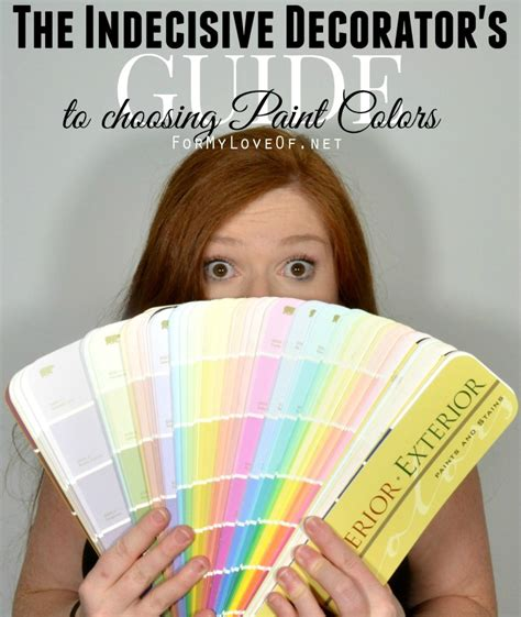 how to choose paint how to choose a paint color for the add decorator
