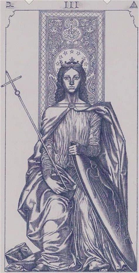 iii millennium the empress tarot of the iii millennium tarot art the empress the empress
