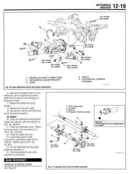 service and repair manuals 2005 mitsubishi endeavor engine control mitsubishi endeavor 2004 2005 2006 2007 2008 and 50 similar items
