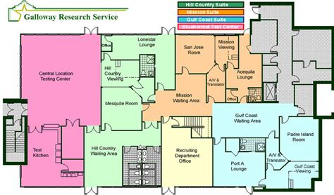 facility floor plan floor plan galloway research service