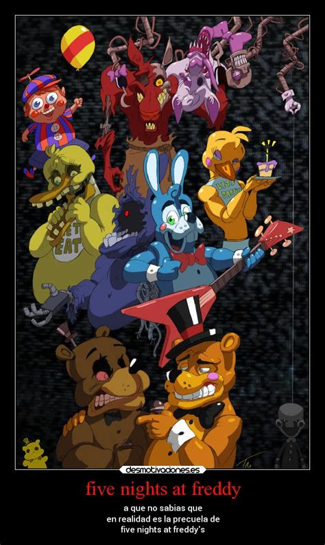 imagenes graciosas five nights at freddy s five nights at freddy desmotivaciones