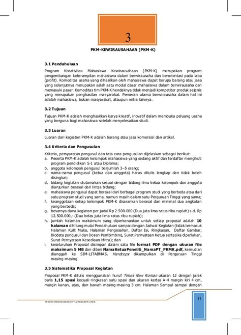 format biodata anggota pkm 165180 panduan pkm 2014