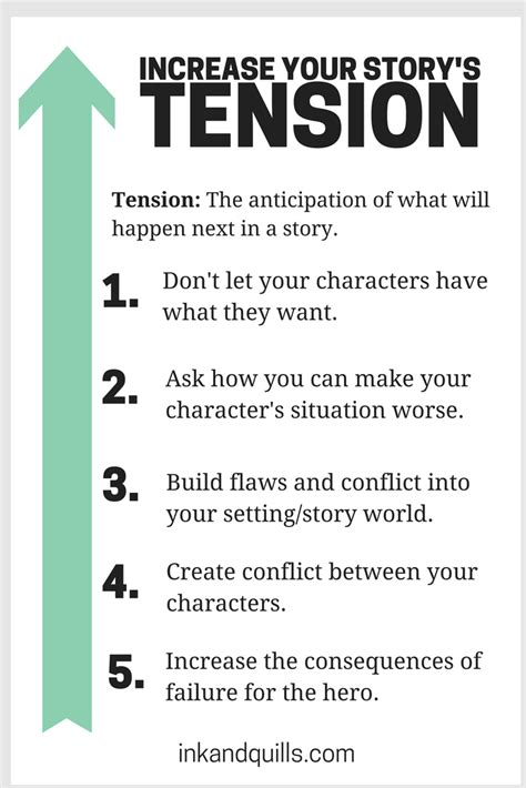 Ways To Increase Sexual Tension Between You And Your Crush by 5 Ways To Increase Your Story S Tension Ink And Quills