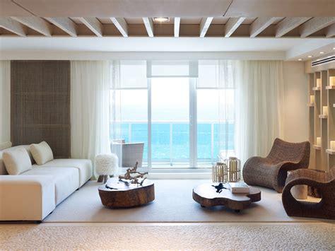 jennifer post designed apartment at the bath club miami 90 the living room miami marvelous oceanfront suite
