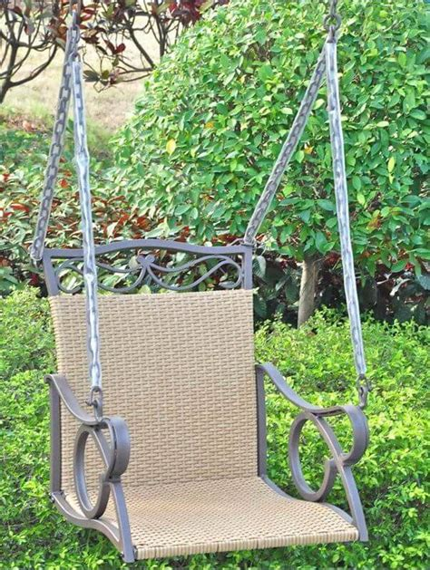 one person swing 72 comfy backyard furniture ideas