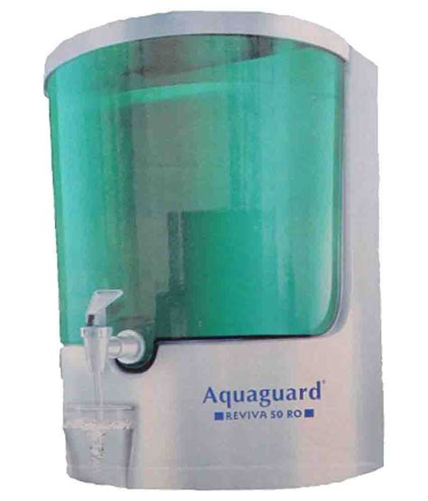 eureka forbes aquaguard reviva 50 ro water purifier buy online best price snapdeal