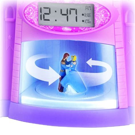 disney princess magical light up storyteller alarm clock new ebay