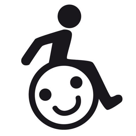 Aufkleber Rollstuhl Kind by Handicap Sticker Mit Smiley Hot And Cool Autoaufkleber