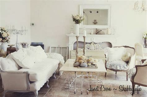 White Shabby Chic Rooms by Top 15 Shabby Chic White Living Room Designs Easy