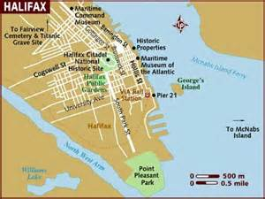halifax canada map map of halifax