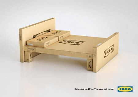 ikea flat pack house for sale a collection of smart creative print ads designer daily