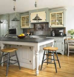Country Kitchen Island Ideas How To Get That Provincial Country Look 171 Doesn T Cost The Earth Interiors Doesn T Cost