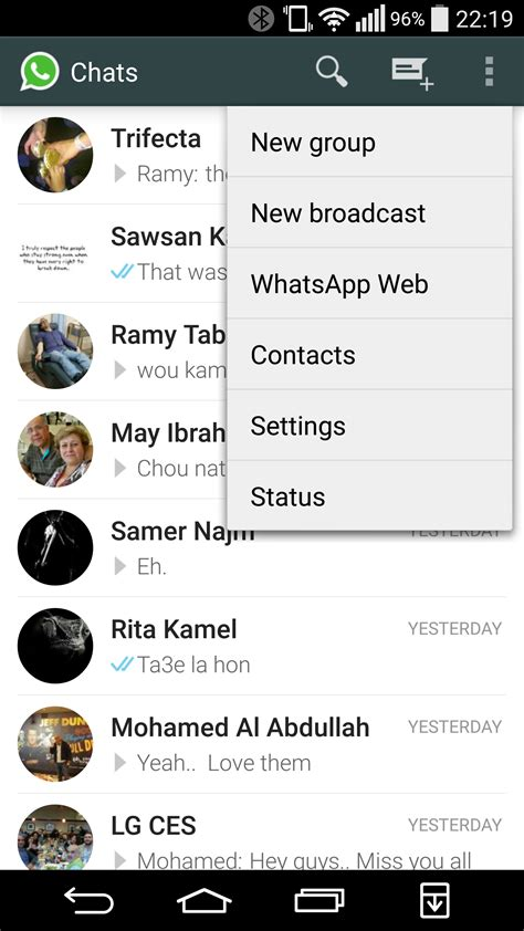 how to use whatsapp web with whatsapp android app hands on whatsapp web goes live for android users