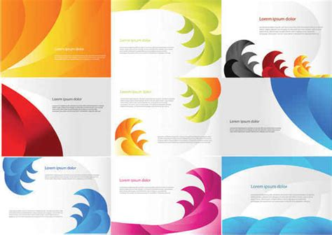 color business card templates free vectors free vector free vector graphics