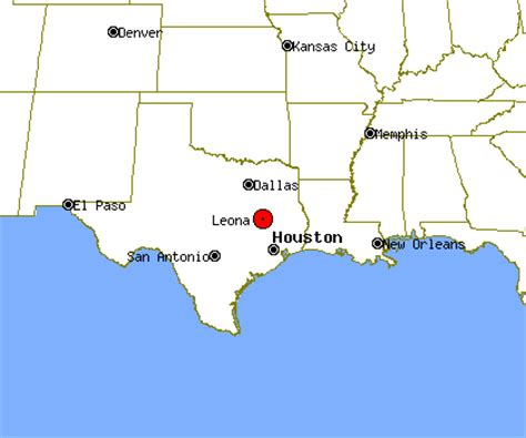 leona texas map leona profile leona tx population crime map