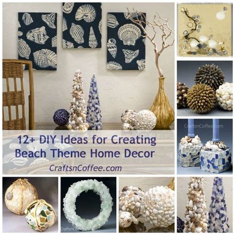 coffee themed home decor crafts n coffee is featuring a week of beach theme home