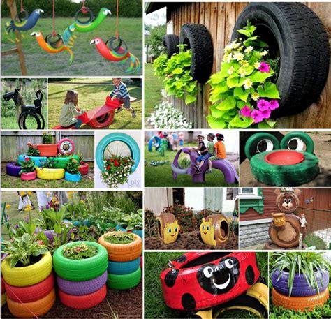 Creative Backyard Playground Ideas Tyre Ideas