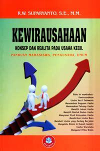 buku kewirausahaan konsep dan realita pada usaha kecil revisi penerbit alfabeta