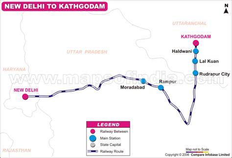 15035/Uttarakhand Sampark Kranti Express Route Map, Old ...