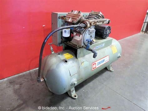 brunner engineering 80 gallon horizontal air compressor ir v244 dayton 3kw 5hp ebay