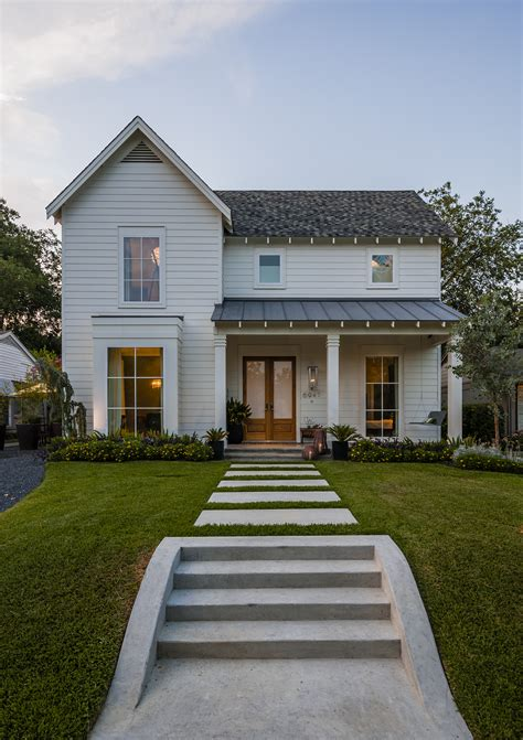 farmhouse exterior lakewood home on aia tour this weekend lakewood east dallas