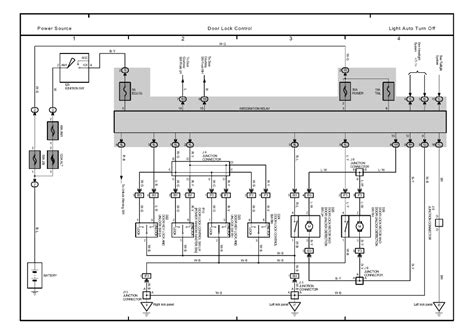 electric power steering 2001 toyota tundra interior lighting repair guides overall electrical wiring diagram 2001 overall electrical wiring diagram