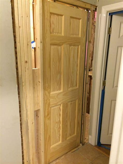 doors installation pocket door installation porterhouse bathroom remodel