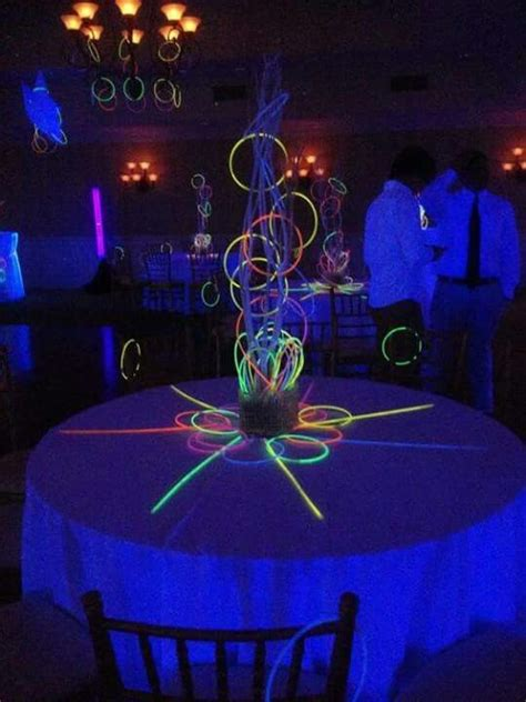 sweet 16 centerpieces and decorations 38 best neon ideas images on decoration 15 years and celebrations