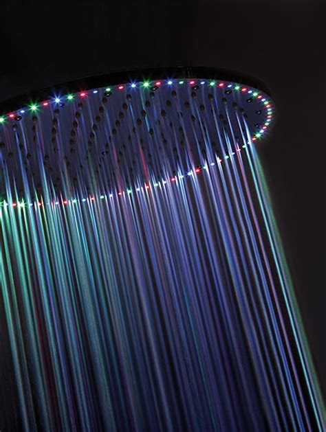 led shower heads from crosswater