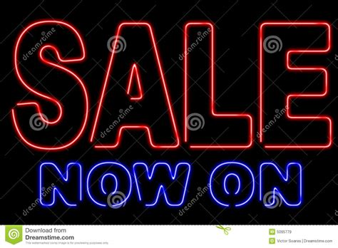 neon sale royalty free stock images image 5095779
