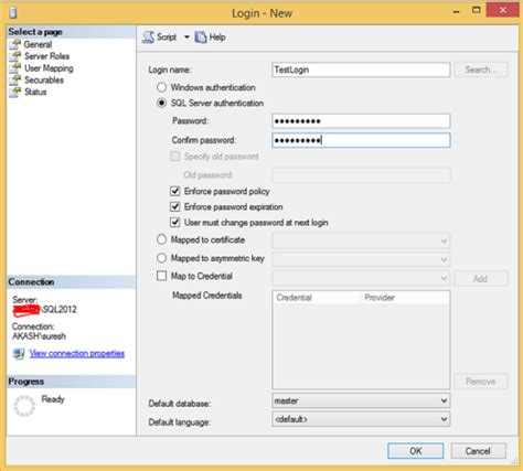 tutorialspoint sql ms sql server login database