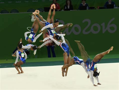 layout half gymnastics frame by frame moves that made simone biles unbeatable
