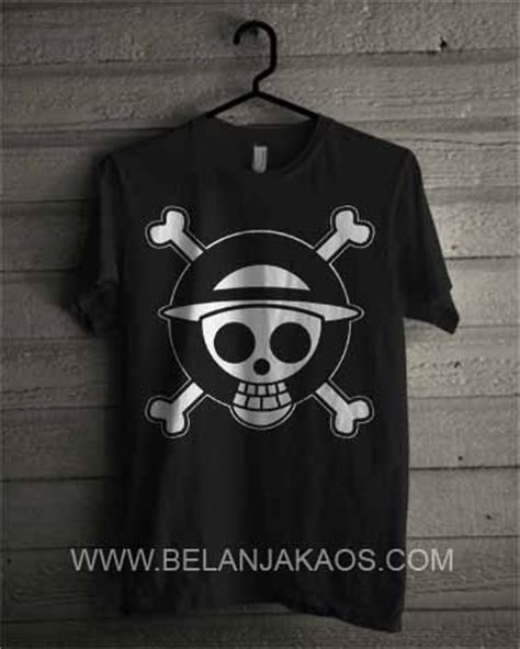 Kaos Strawhat baju kaos strawhat one on08 baju kaos